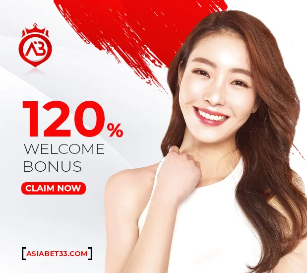 120%-welcome-bonus-Asiabet33